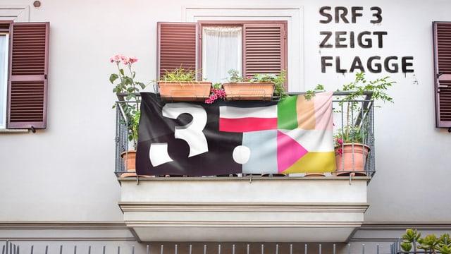 Vom 4. bis 8. April zeigte SRF 3 Flagge.