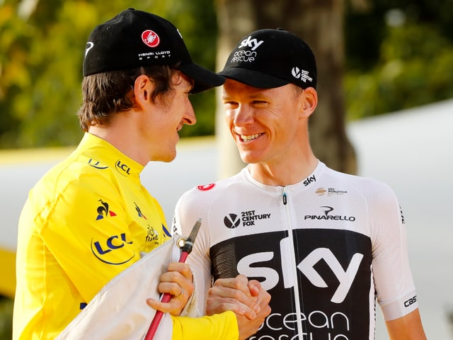 Chris Froome und Geraint Thomas.