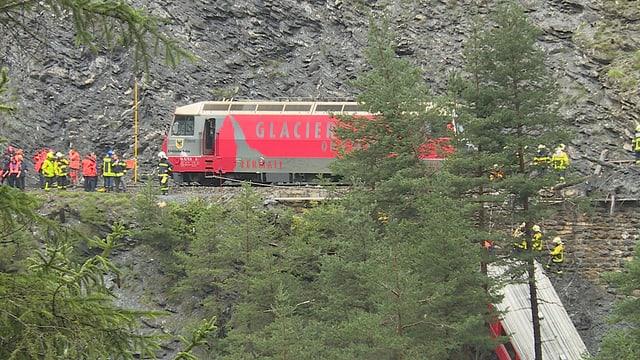Ina locomotiva da la Viafier retica.