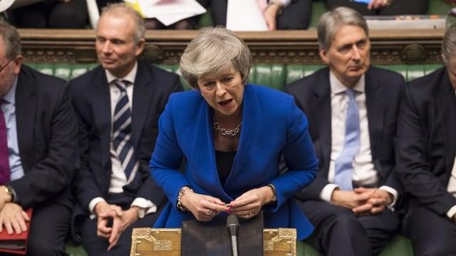 Foti da Theresa May