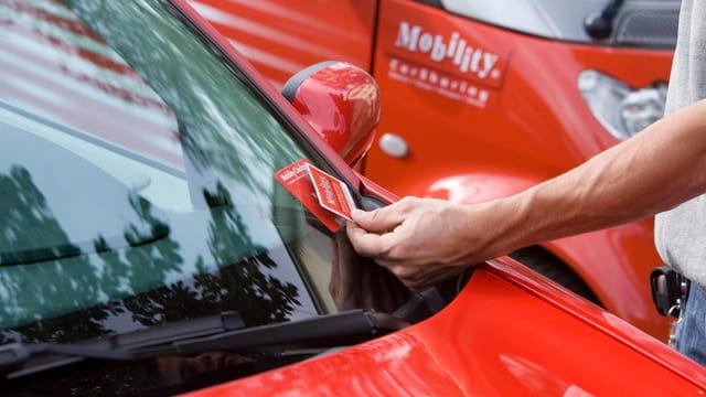 Detail von Mobility-Auto