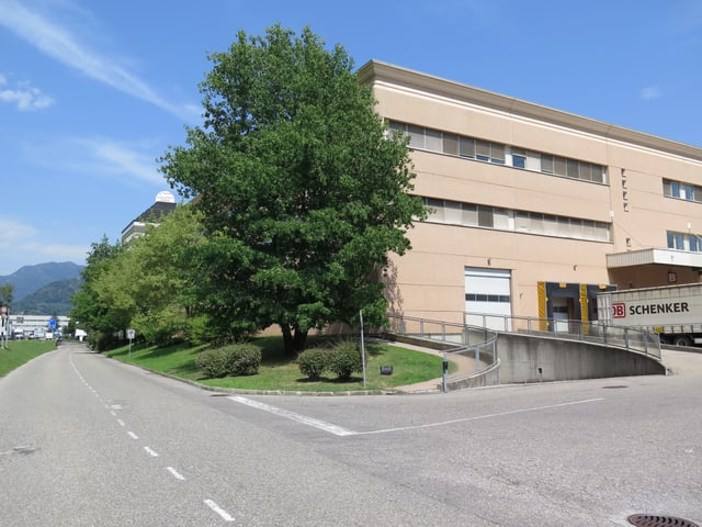 Gebäude in Manno, nah bei Lugano.