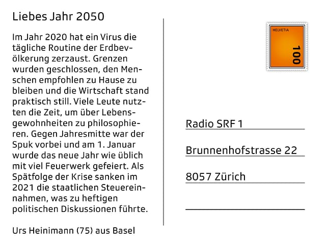 Urs Heinimann (75) aus Basel.