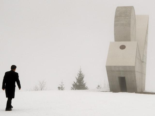 Das Denkmal für die Résistance auf dem Plateau des Glières.