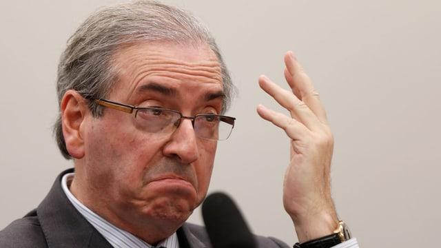 Präsident der Abgeordnetenkammer in Brasilien, Eduardo Cunha