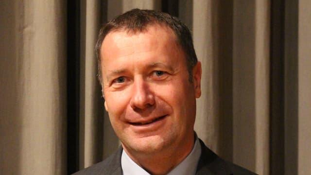 Othmar Filliger nach der Nominationsversammlung der CVP.