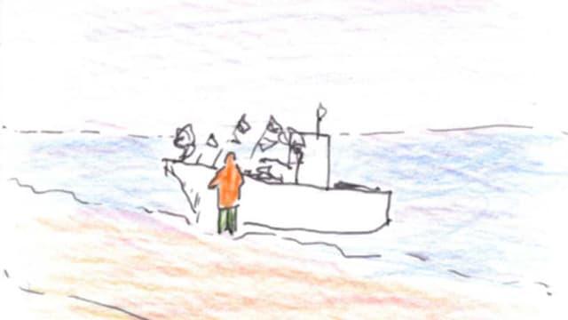 Zeichnung von Clara Buntin