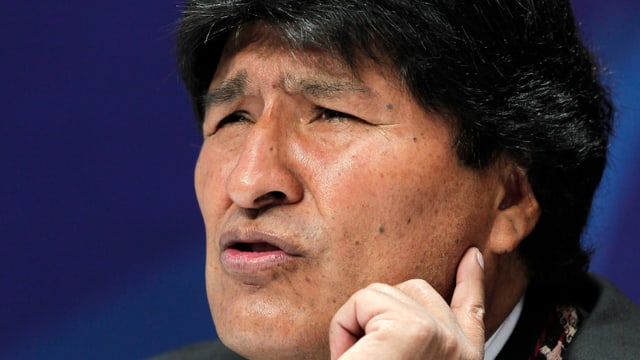 il president bolivian Evo Morales
