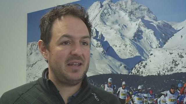 Menduri Kasper, il manader da gestiun dal Maraton da skis engiadinais.
