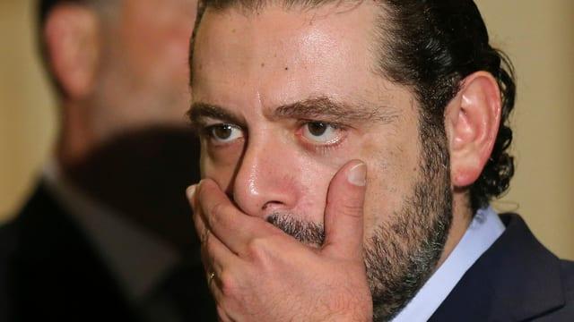 Purtret da Saad Hariri.