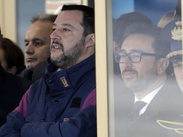 Matteo Salvini und Justizminister Alfonso Bonafede