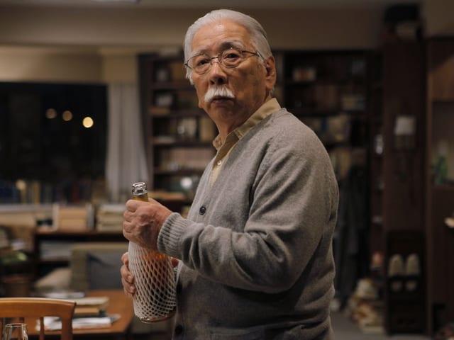 Tadashi Okuno als 80jähriger Professor Takashi.