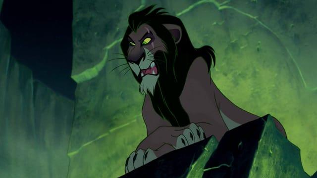 Scar, der Schurke im Disney-Film «Der König der Löwen»