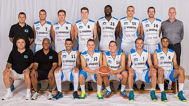 Teamfoto des Basketballteams