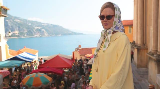 Nicole Kidman als Grace Kelly in Monaco.