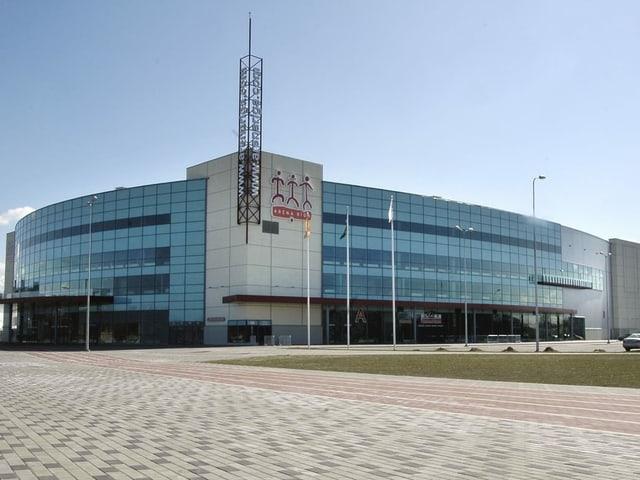 Die Arena Riga wurde 2006 für die WM erbaut.