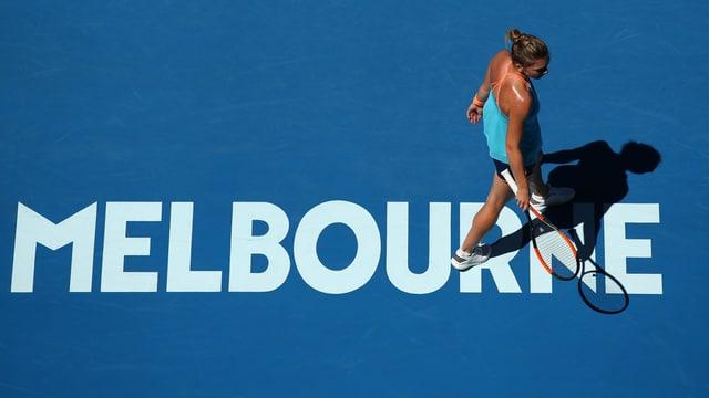 Simona Halep scheitert in Runde 1.