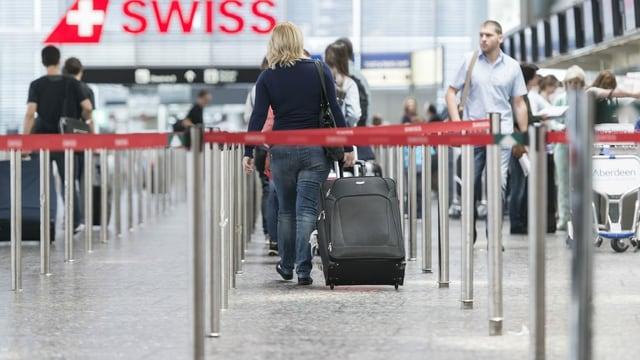 Flughafen Kloten, Check-In