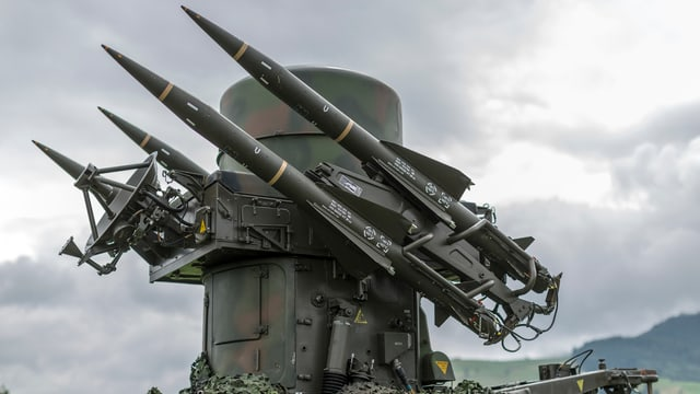 Fliegerabwehrsystem der Schweizer Armee