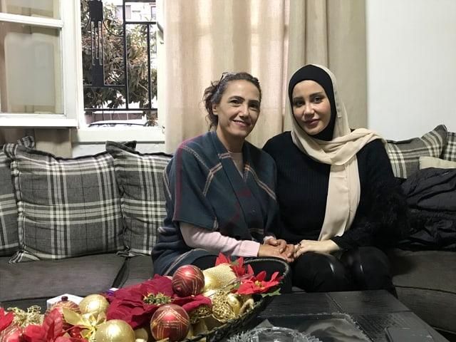 Marcelle Wardeh und Soha Kanj