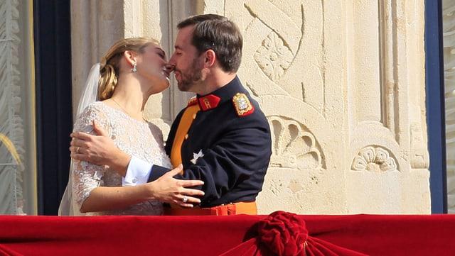 Prinz Guillaume und Gräfin Stéphanie