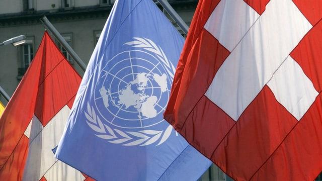 Bandieras ONU, Svizra.