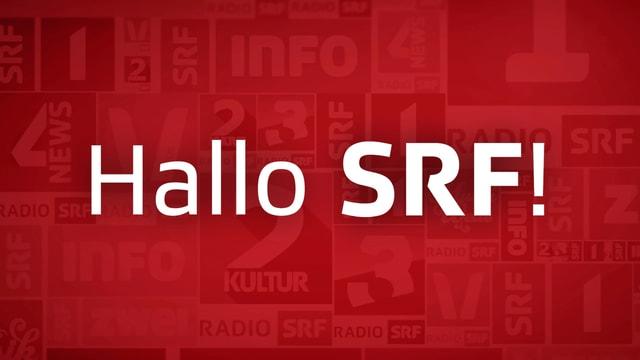 Logo der Sendung «Hallo SRF!»