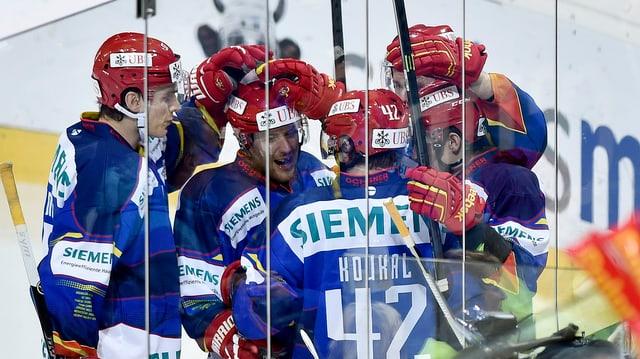plirs giugaders da Helsinki sin glatsch giubileschan suenter gol