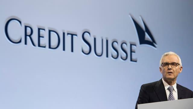Urs Rohner, president dal cussegl d'administraziun da la banca Credit Suisse
