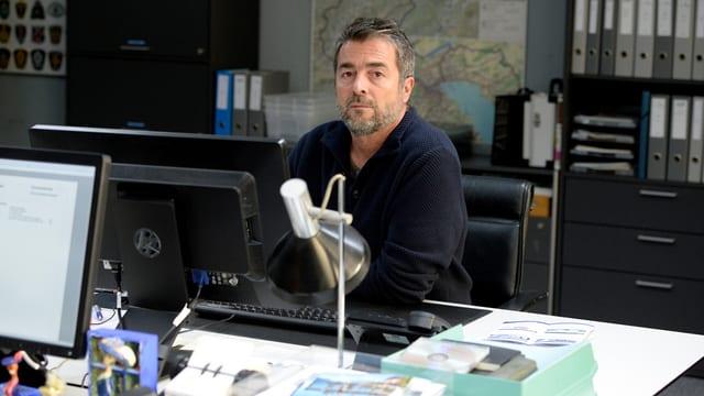 Porträt Stefan Gubser.