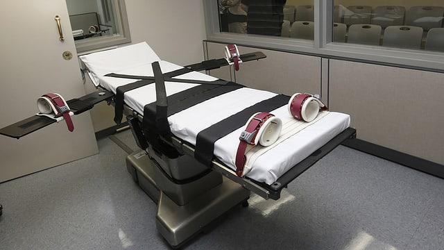Hinrichtungsvorrichtung in Oklahoma