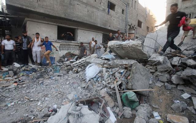 Gaza unter Dauerbeschuss
