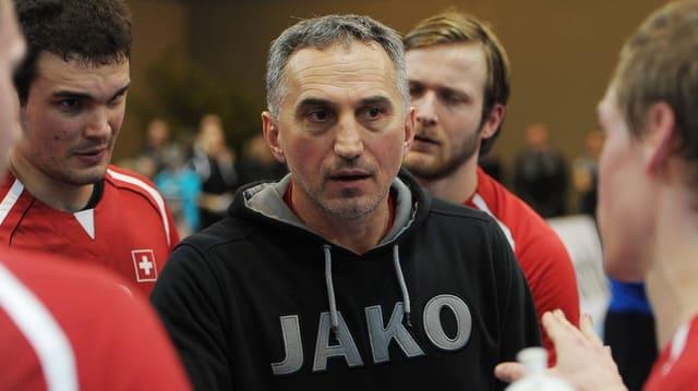 Goran Perkovac begleitet sein team nicht ans Auswärtsspiel.