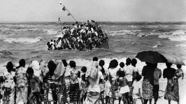 Mehr als 1,5 Million Vietnamesen wagen die Flucht übers Meer.