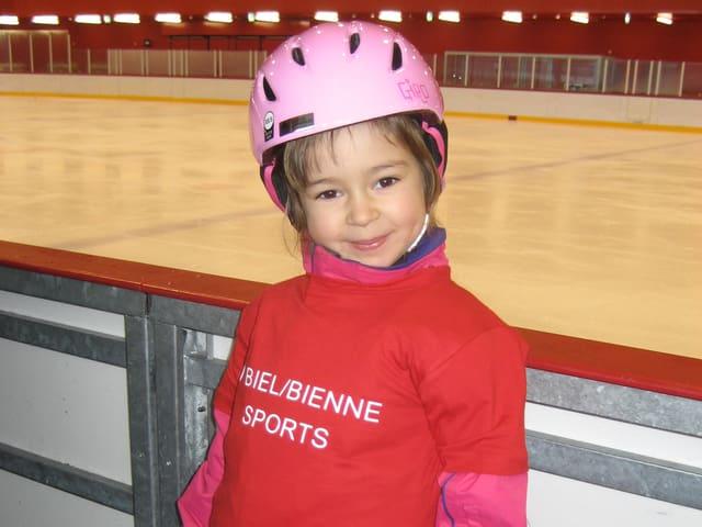 Christina Angwerd ist die 1000. Teilnehmerin an den Kursen von Biel/Bienne Sports.