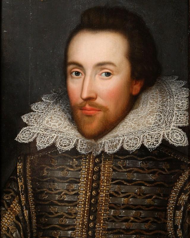 Das «Cobbe-Porträt» von William Shakespear von 1610.