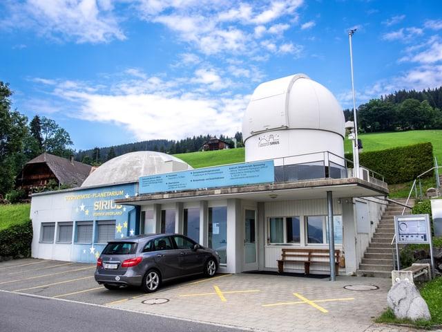 L'observatori SIRIUS en la vischnanca Sigriswil en il chantun Berna