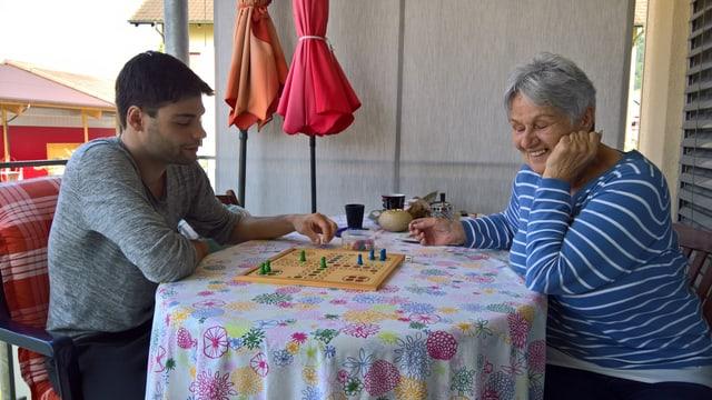Adrian Burri e Ursula Bergmann