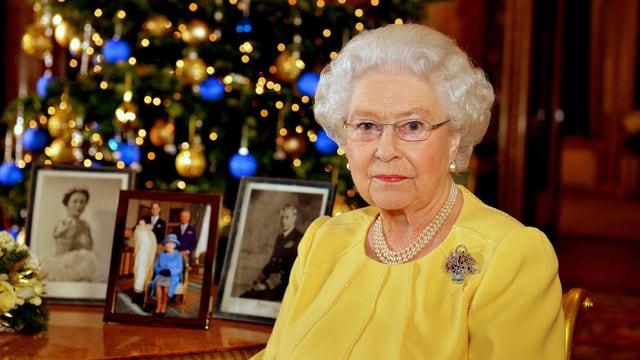 Queen Elizabeth II. bei ihrer Weihnachtsansprache 2013
