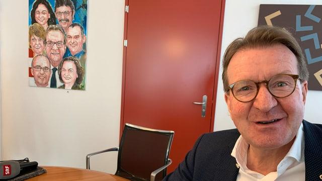 Hans-Ruedi Hottiger, Stadtammann von Zofingen.