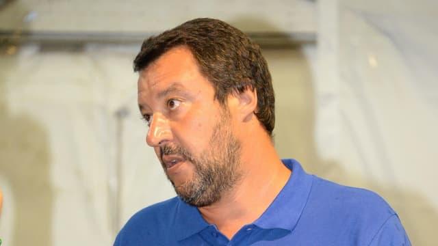 Il minister da la Lega Matteo Salvini.