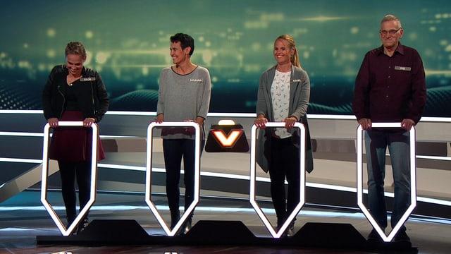 Video «25'000 Franken in Griffnähe bei «Wir mal vier»» abspielen