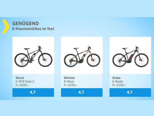 Testgrafik E-Mountainbikes genügend.