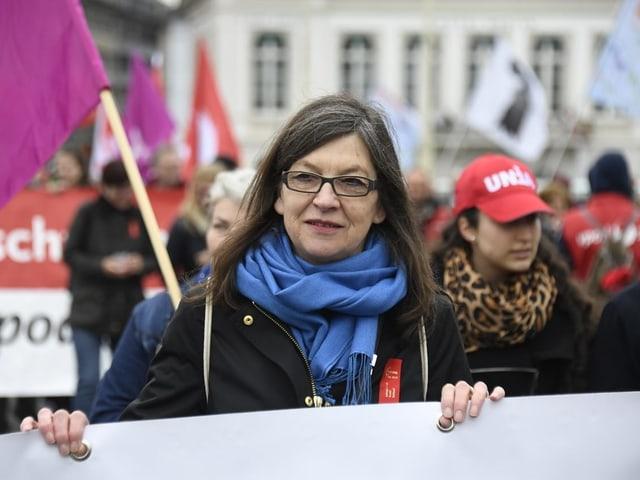 Schenker an 1. Mai Demo