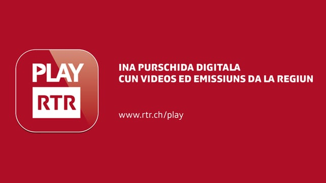 Play RTR - Ina purschida digitala cun videos ed emissiuns da la regiun.