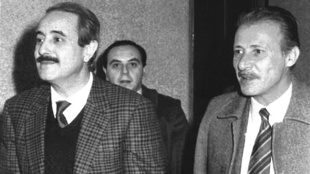 Die Mafia-Jäger der ersten Stunde: Giovanni Falcone e Paolo Borsellino.