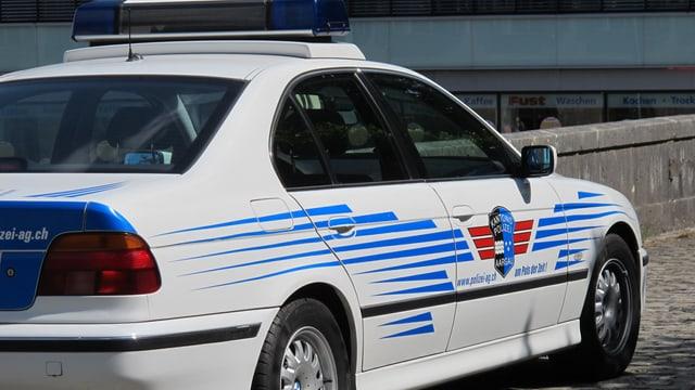 Auto der Aargauer Kantonspolizei.
