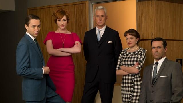 Zwei Frauen, drei Männer- Mad Men