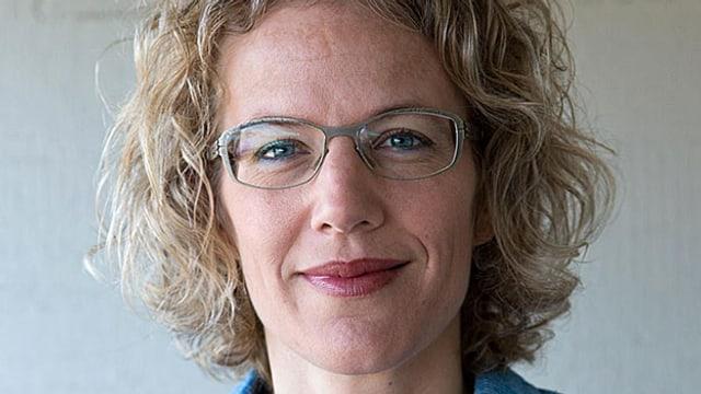 Porträt von Verena Mühlethaler.