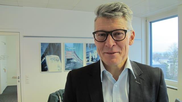 Markus Schüpbach, Direktor Solothurner Gebäudeversicherung.